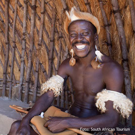Freundliche Meschen, Kultur in Südafrika
