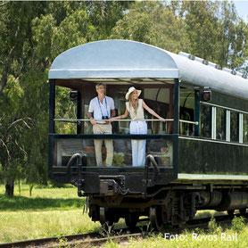 Nostalgische Reise durch Zimbabwe mit dem Rovos Rail