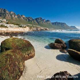 Zwölf Apostel, Bucht in Kapstadt, Südafrika