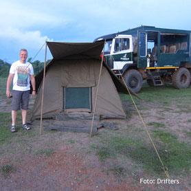 Campingsafari in Uganda