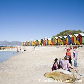 Strand in Kapstadt, Südafrika