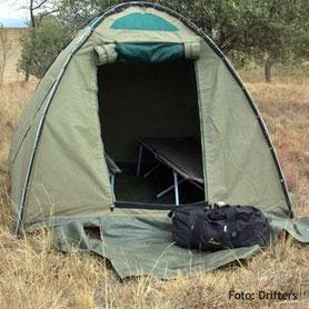 Botswana Campingsafaris  Zelten im Naturpark