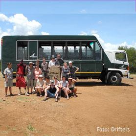 Gruppenreisen mit dem Geländewagen in Kenia