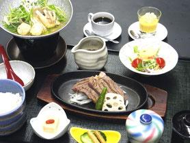 ステーキ御膳 1,980円(税別)