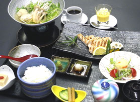 豚の炙り焼き御膳 1,500円(税別)