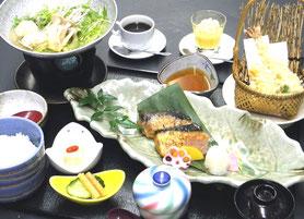 焼き魚御膳  1,600円(税別)