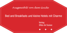 label guide 'gites de suisse'