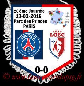 Fanion  PSG-Lille  2015-16