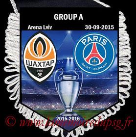 Fanion  Shakhtar Donetsk-PSG   2015-16