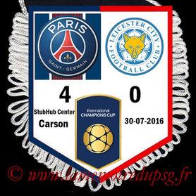 Fanion  PSG-Leicester  2016-17