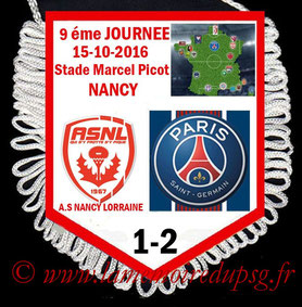 Fanion  Nancy-PSG  2016-17