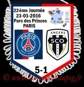 Fanion  PSG-Angers  2015-16
