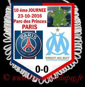 Fanion  PSG-Marseille  2016-17