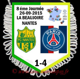 Fanion  Nantes-PSG   2015-16