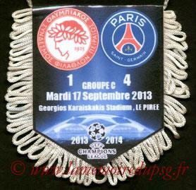 Fanion Olympiacos-PSG 2013-14
