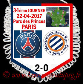 Fanion  Angers-PSG  2016-17