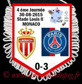 Fanion  Monacor-PSG  2015-16