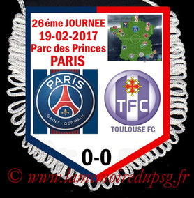 Fanion  PSG-Toulouse  2016-17