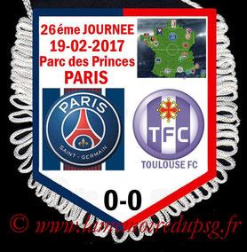 Fanion  PSG-Toulouse  2016-17