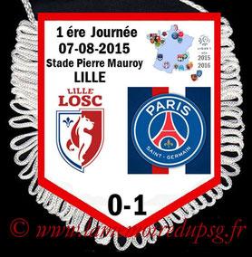Fanion  Lille-PSG  2015-16