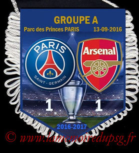 Fanion  PSG-Arsenal  2016-17