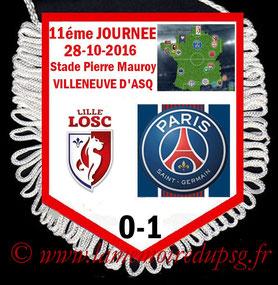 Fanion  Lille-PSG  2016-17