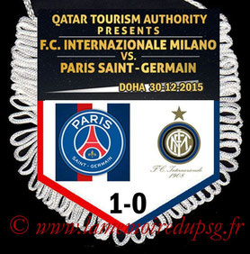 Fanion  Inter-PSG  2015-16