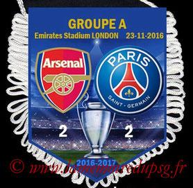 Fanion  Arsenal-PSG  2016-17