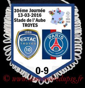 Fanion  Troyes-PSG  2015-16