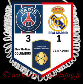 Fanion  PSG-Real Madrid  2016-17