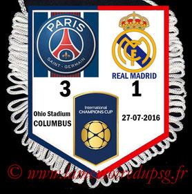 Fanion  PSG-Real Madrid  2016-17