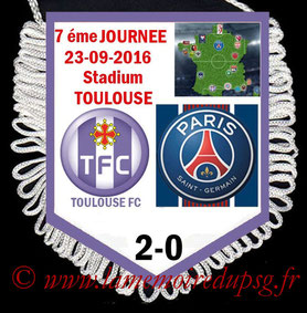 Fanion  Toulouse-PSG  2016-17