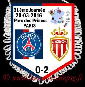 Fanion  PSG-Monaco  2015-16