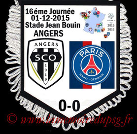 Fanion  Angers-PSG  2015-16