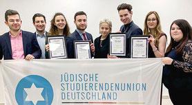 Jonathan Braun, Schweiz, JSUD, Jüdische Studierendenunion Deutschland