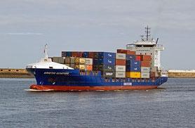 bateau conteneurs maritimes organisation logistique
