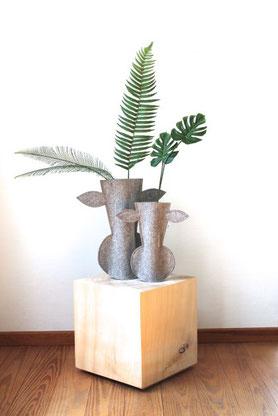 Der Elchling als Husse für Vasen
