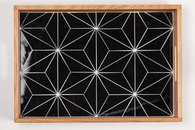 Mosaik-Tabeltts von Helmuth Mosaik