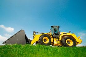 Präzisionsbauteile für Baumaschinen