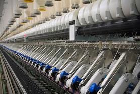 Präzisionsbauteile für Textilmaschinen