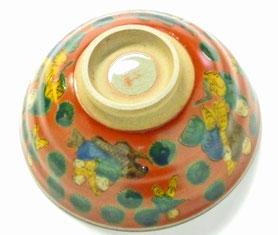 九谷焼通販 おしゃれな飯碗 茶碗 ご飯茶碗 大 木米写し