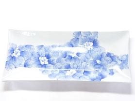 九谷焼通販 お皿 藍椿