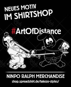 ArtOfDistance Shirt Design