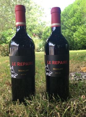 """Vin rouge """"Le Repaire"""" 2013, vignobles LEBECQ"""