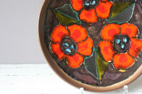 Wandteller West German Pottery | wall plates Midcentury