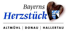 Logo Tourismusverband Kelheim e.V. - Herzstück Bayerns