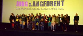 """Preisträger Jugendfilmfestival """"Jung & Abgedreht 2015"""""""
