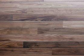 ブラックウォルナット ユニ 75幅 床暖房 無垢フローリング アンドウッド 新潟