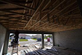 geschlossener Dachstuhl