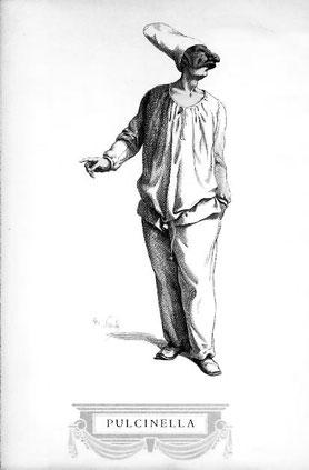 Zeichnung von Maurice Sand 1823–1889
